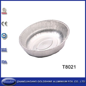 Aluminum Foil Oval Container (T8021) pictures & photos
