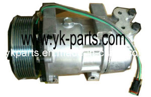 SD7h15 Auto AC Compressor for Truck pictures & photos