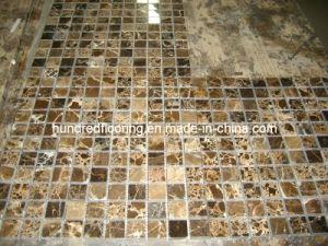 Dark Emperador Marble Mosaic Tile (HSM120) pictures & photos