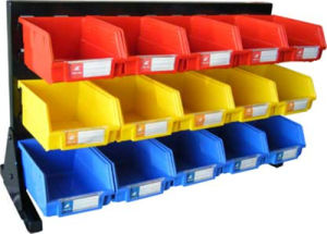 Plastic Storage Bin in Warehouse, Garage (PK011) pictures & photos