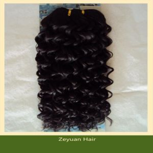 Top Quality Virgin Remy Chinese Human Hair Weave (ZYWEFT-08) pictures & photos