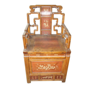 Chinese Antique Furniture Wooden Carved Chair Lwe169 pictures & photos