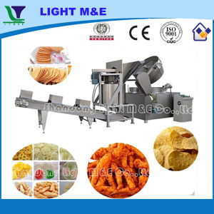 Thermostat Controlled Nut Snack Pellet Automatic Batch Fryer pictures & photos