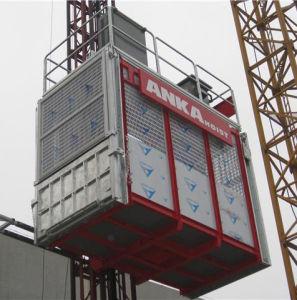 Building Hoist with Rack and Pinion pictures & photos