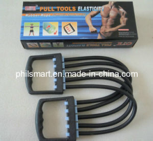 Rubber Exercise Elastic Tube Exerciser Chest Expander pictures & photos