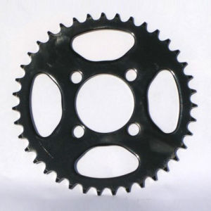Motorcycle Sprocket/Black/428 pictures & photos