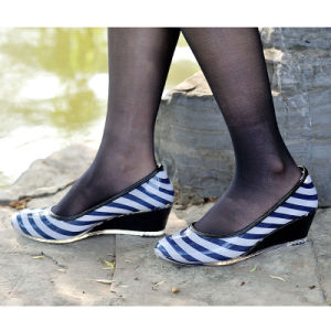 Ladie PVC Leisure Shoes, Fashion Women High Heel Rain Boots