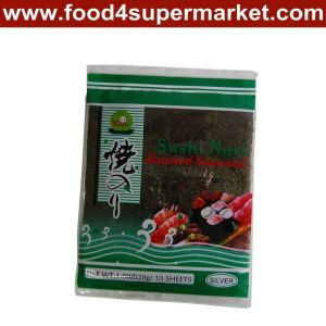 Yaki Sushi Nori 10 Sheets Grade a pictures & photos