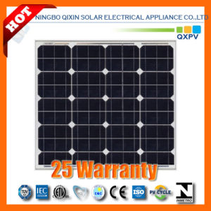 55W 156*156mono-Crystalline Solar Panel pictures & photos