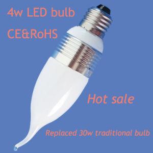 Energy Saving 4W LED Candle Bulb (CE&RoHS) (DF-E27A-4W)