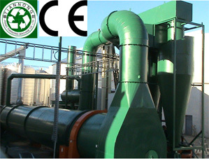 CE Approved Rotary Drum Dryer (WSG-250 / 500 / 1000 / 1500 / 2000 / 3000)