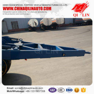 2 Axles Dolly Trailer with 385/65r22.5 Single Tyre pictures & photos