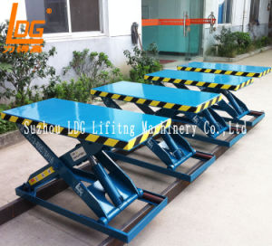 Stationary Hydraulic Scissor Lift Table (SJG0.5-1) pictures & photos