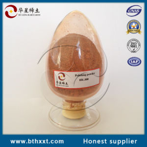 CNAS ISO9001 SGS Pass Red Powder Polishing Powder Hx-300 pictures & photos