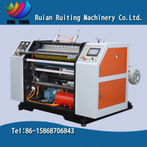 Rtfd-900 ATM POS Thermal Paper Roll Slitting and Rewinding Machine pictures & photos