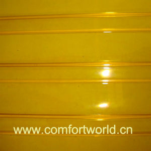 PVC Door Curtain Yellow (SHPV00750) pictures & photos