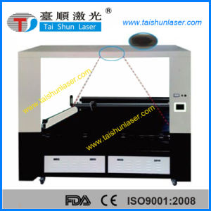 Large Vision 800X500mm Fabric CCD Laser Cutting Machine pictures & photos