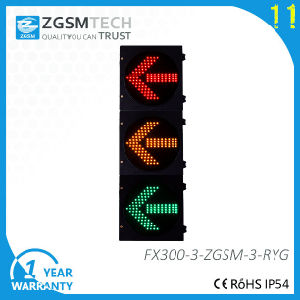 200mm 300mm 400mm LED Arrow Traffic Signal Lights pictures & photos