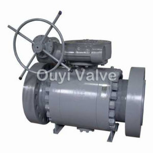 Trunnion Mounted Ball Valve API 6D