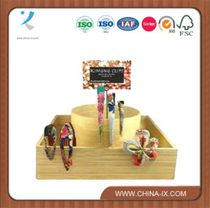 Custom Wooden Girls Accessories Display Stand Hairpin Display pictures & photos