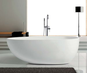 Simple Freestanding Acrylic Bathtub with Cupc Certificate pictures & photos