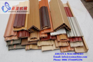 PVC WPC Plastic Windows and Doorframe Profiles Extrusion Machine pictures & photos