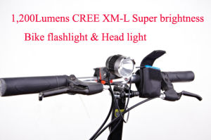 Rechargeable Super Bright LED Bicycle Lamp Bike Light pictures & photos