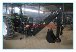 Tractor Mounted 3 Point Hitch Hydraulic Backhoe (LW-6, LW-7, LW-8) pictures & photos