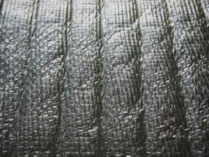 Woven Insulation With Aluminum Foil and PE Bubble