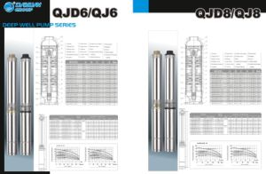 Deep Well Submersible Pump with Ce (QJD6 Series) pictures & photos