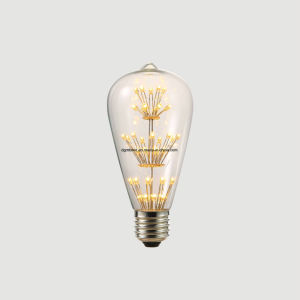 LED bulb Vintage Edison Bulb LED 3W ST64 Incandescent Light lamp Bulb E27 Light LED Bulb Filament Bulb pictures & photos