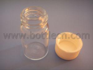 Clear Screw Thread Vials /Teflon Lined Polypropylene Caps