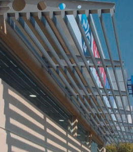 Outdoor Louver Shade Sun Shading (DX-AB150)