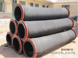 Rubber Dredging Hose with Flanged pictures & photos