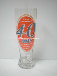 Printed Clear Beer Glass (PJB-01) pictures & photos