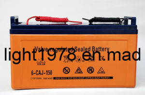 Sealed Lead Acid Battery 150ah/12V (6-CAJ-150) pictures & photos