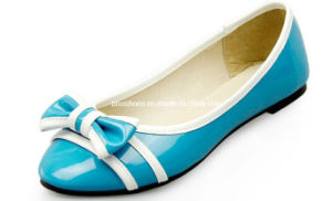 Safe Women Flats Shoes Without Heel Blue Lady Flats