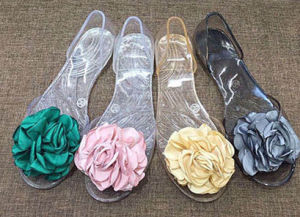 Unique PVC Crystal /Jelly Shoes for Ladies