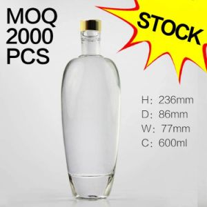 Vodka Bottle / Whiskey Bottle / Wine Bottle/ Alcohol Beverage Bottle Stock! ! pictures & photos