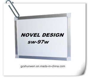 Very Popular Magnetic Whiteboard for Teaching with Aluminum Frame CE, ISO, SGS Characteristic