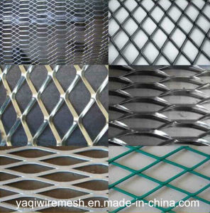China Supplier Galvanized/ Powder Coated Expanded Metal Mesh pictures & photos