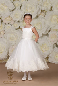 Princess Wedding Flower Girls Tutu Dress Child Costume
