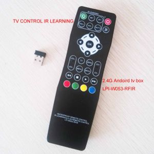2.4 IR Learning Remote Control for Both TV and STB Box pictures & photos