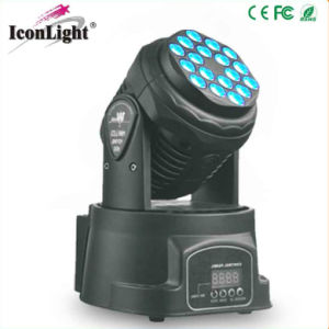 Mini 18*1W/3W RGB LED Moving Head pictures & photos