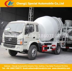 4X2 Foton 6cbm 180HP Concrete Mixer Truck with Hydraulic Pump pictures & photos