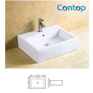 Ceramic Counter Top Washing Basin 8127 pictures & photos