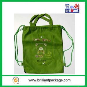 Nylon Promotional Drawstring Bag for Shopping Storage pictures & photos