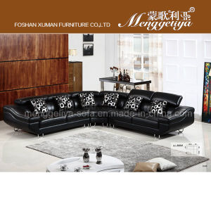 Luxury Leather Cushion Sofa (888#)