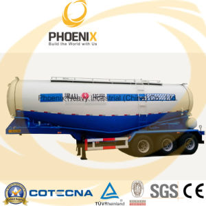 Professional Supplier 45m3 Bulk Cement Semitrailer with Fuwa Axle pictures & photos