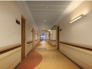 Hospital Vinyl Plastic Portable Handrails pictures & photos